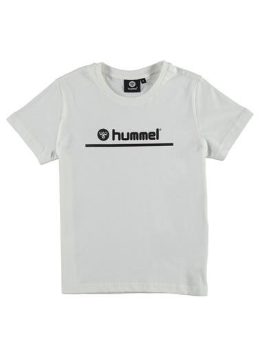 Hummel Çocuk Tişört Bonda 910691-9003 Beyaz